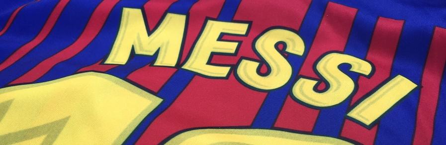 Fotbalový dres FC Barcelona Lionel Messi 17/18, záda