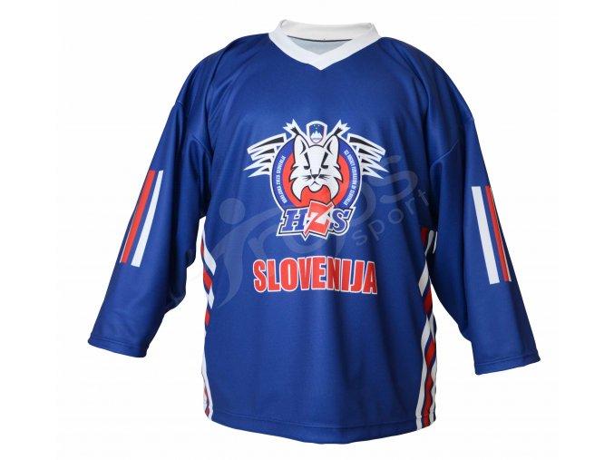 Hokejový dres Slovinsko TOP - modrý