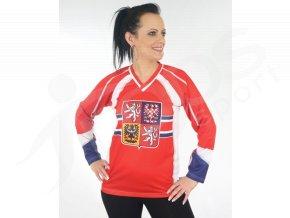 Dámský hokejový dres ČR TOP - červený