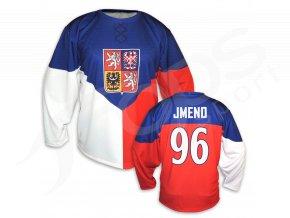 Český hokejový dres TOP - domácí