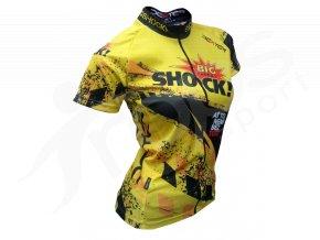 Cyklistický dres BIG SHOCK race woman