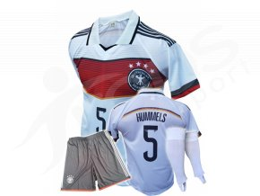 Fotbalový komplet Německo Mats Hummels + stulpny