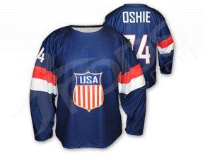 Hokejový dres USA 2014/2015 TOP - modrý