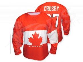 Hokejový dres Kanada 2014/2015 TOP - červený
