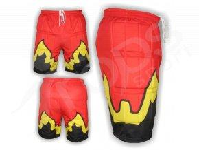 Hokejbalové kalhoty FLAMES subli