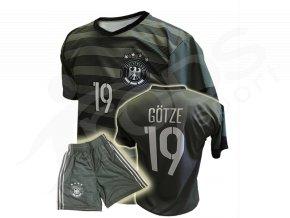 fotbalovy dres nemecko gotze nove trenky