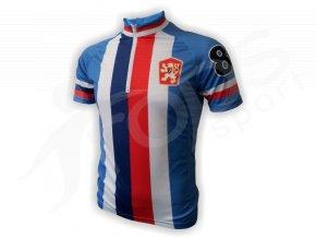 Cyklistický dres retro ČSSR - trikolora