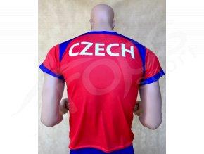 Fotbalový dres ČR LEV červený