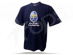 Tričko RYTÍŘI KLADNO - modré